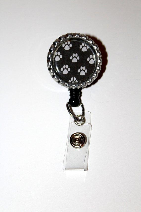 Best Gift Idea Alligator Swivel Clip ID Badge Holder Retractable ID Badge Reel SALE !!!! Teacher Nurse Gifts Badge Clips