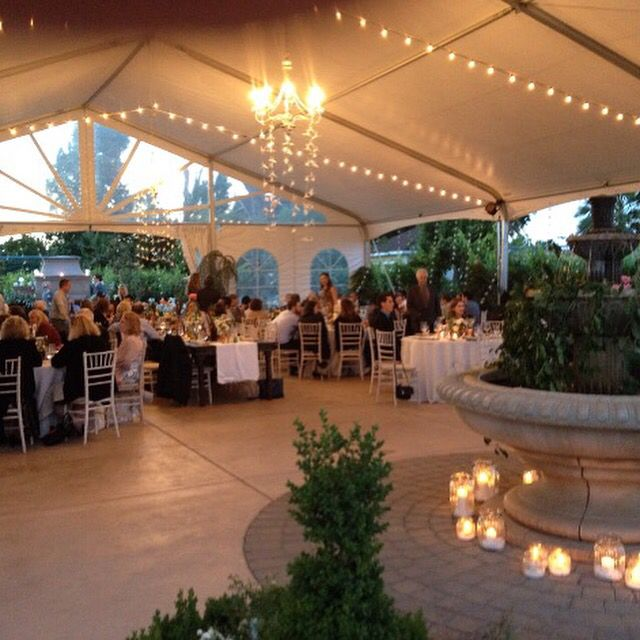 Vineyard Wedding, Reception, Table Decorations