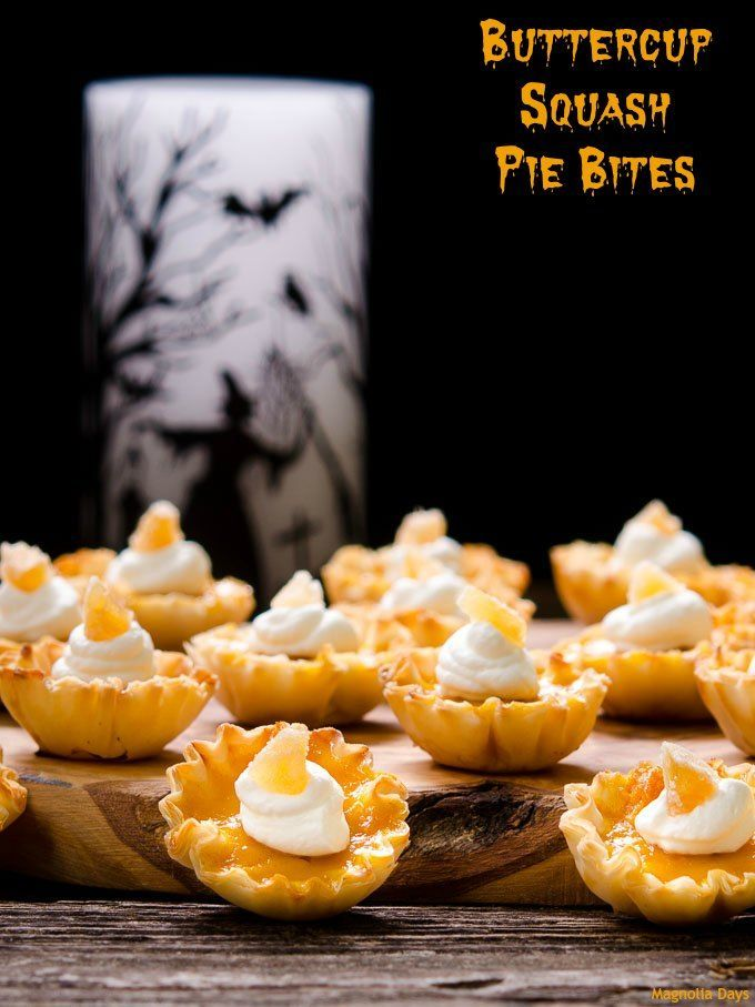 Buttercup Squash Pie Bites Recipe Squash Pie Buttercup Squash Dessert Recipes