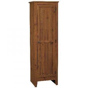 Ameriwood Milford Single Door Old Fashioned Pine Storage ...