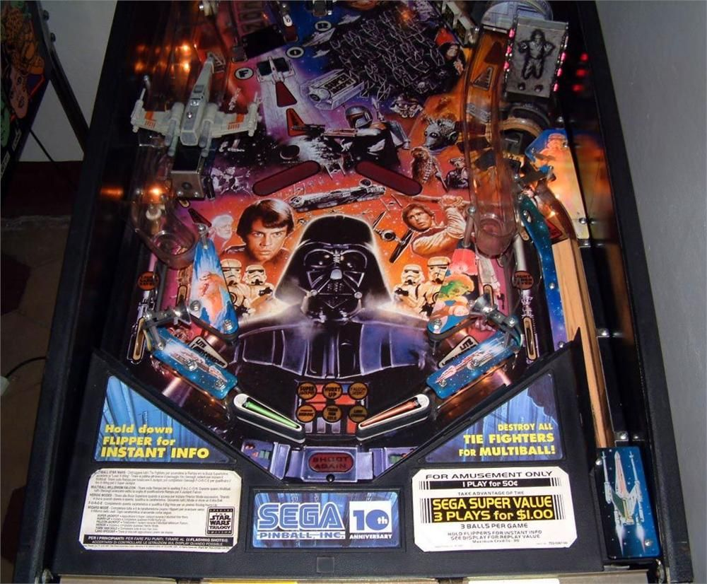 Star Wars Pinball Machine >> Star Wars Pinball Machine Google Search Star Wars Pinball