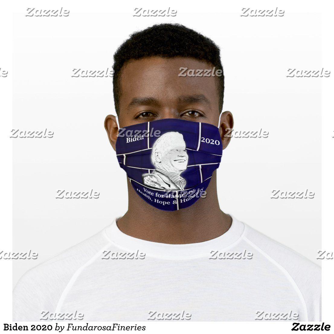Biden 2020 cloth face mask in 2020 Face
