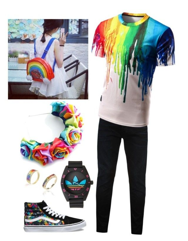 Pride Outfit Ideas Trin By Trinityandnikita On Polyvore Featuring