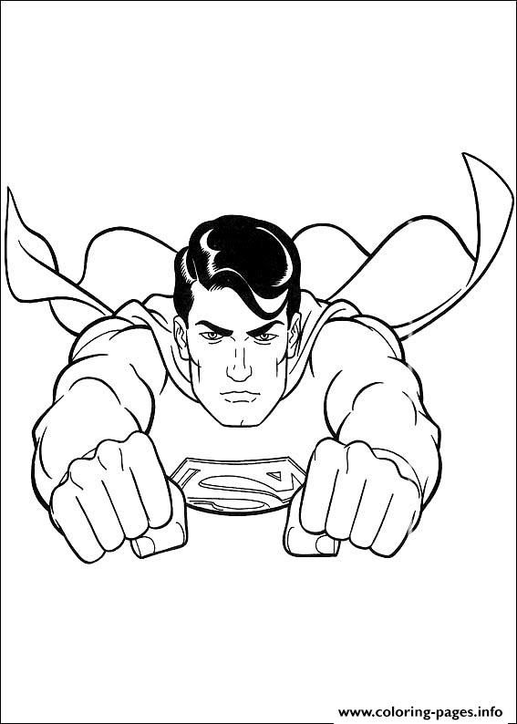 Kids Superman S For Coloring Pages Printable And Book To Print Free Find More Online Adults Of