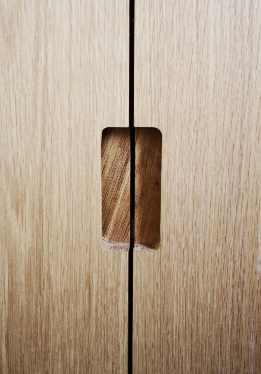 Superbe Cabinet Doors With Cut Out Handles