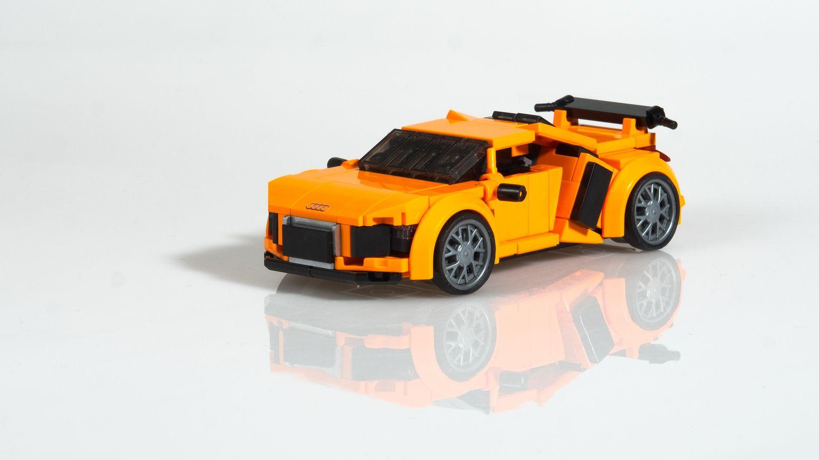 Audi R8 V10 Plus 2015 R8 V10 Lego And Custom Lego