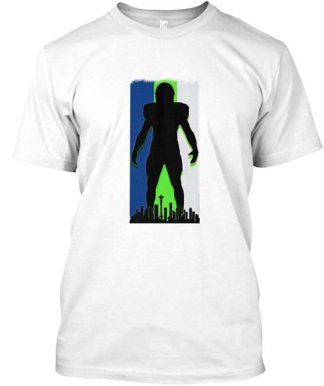 Seattle Seahawks Live Large Fan Tee | Teespring
