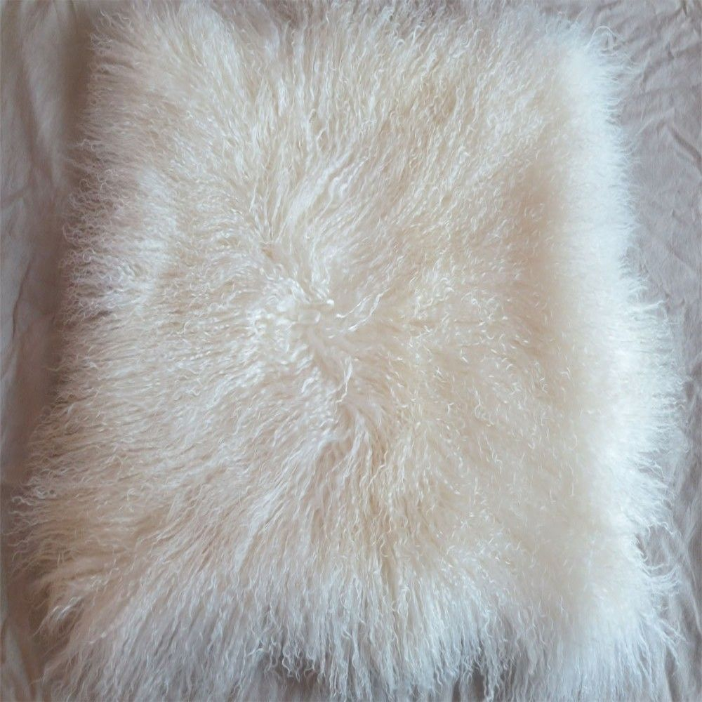 img organize tufted bed decorate bedroom resources fur furry white pillow clean pillows