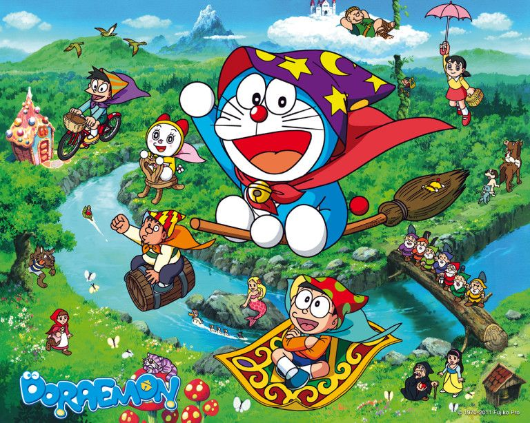 Wallpapers - Doraemon | Official Website | Episodes | Activities | Videos | Games
