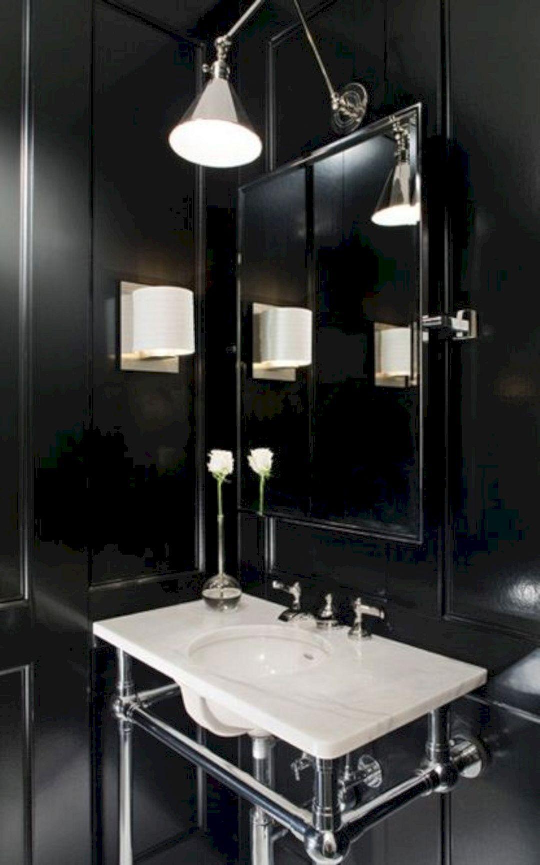 65 best black bathrooms interior ideas for cool bathroom