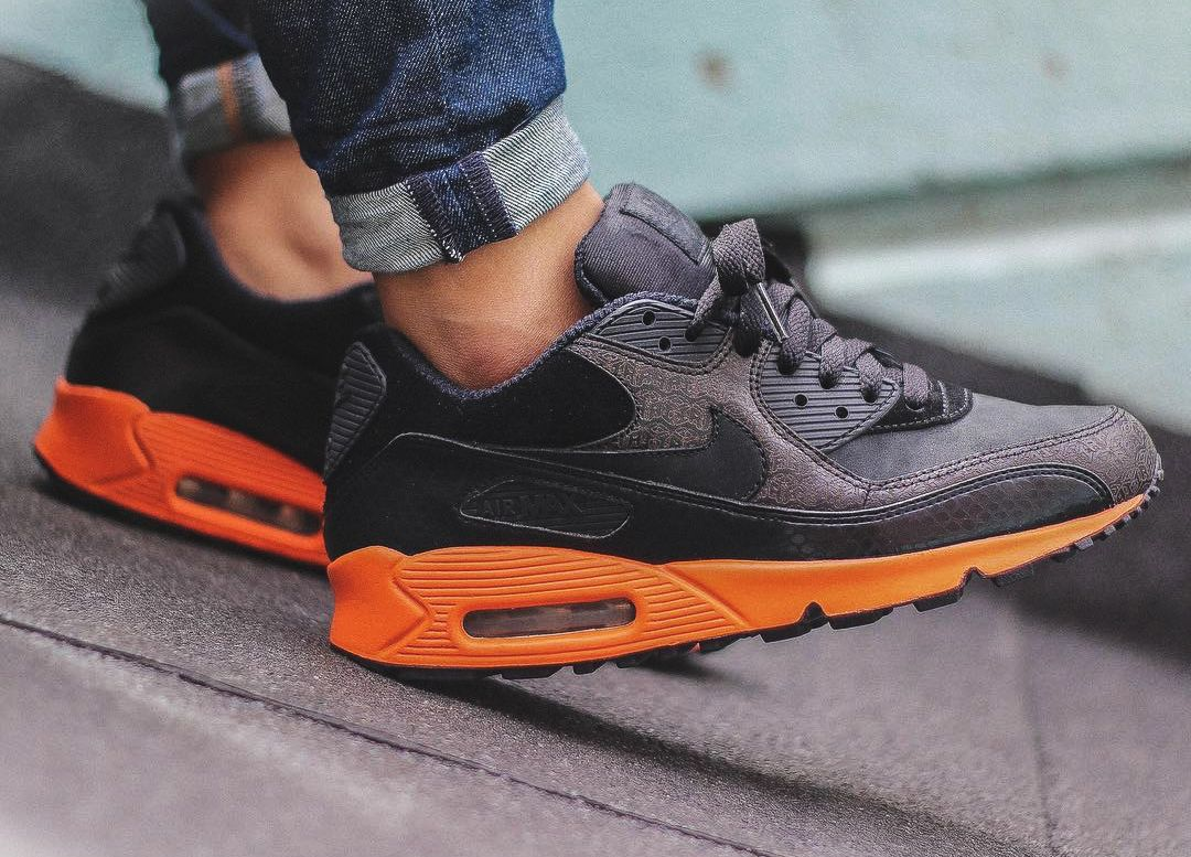 Coming Soon: Nike Air Max 90 Black Orange – HI END FASHION