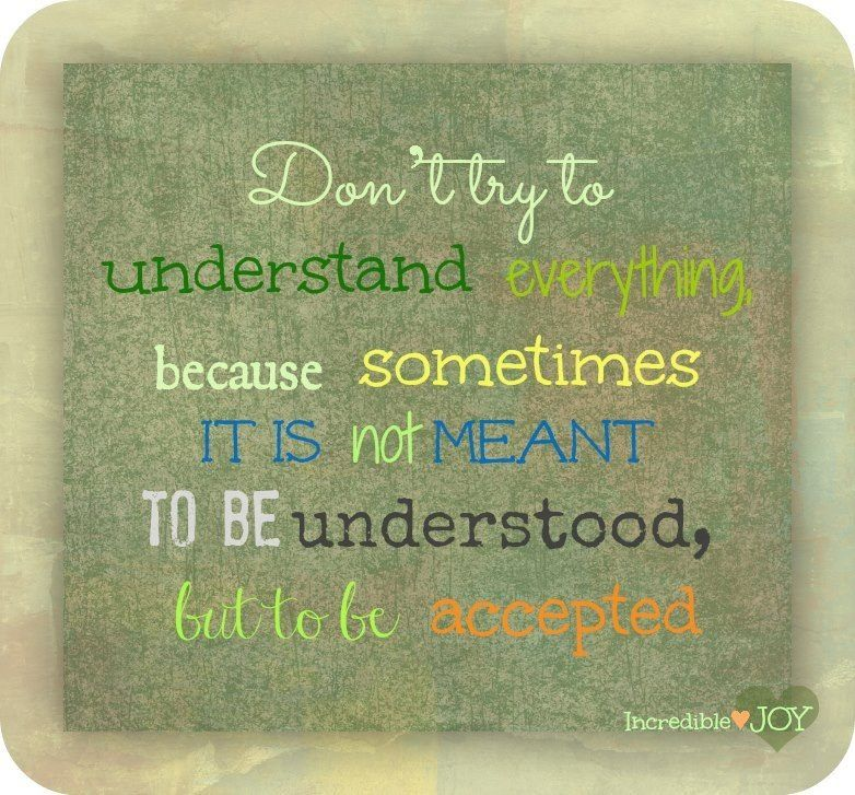 Don't try...