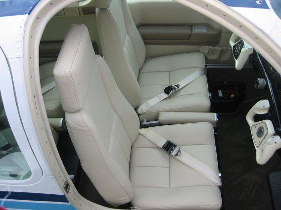 Airtex Interiors Portfolio, 1987 Beech F33A