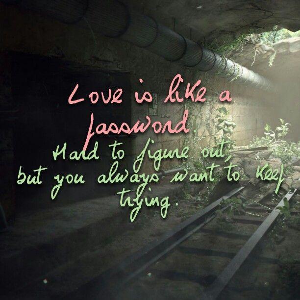 Love = pasword