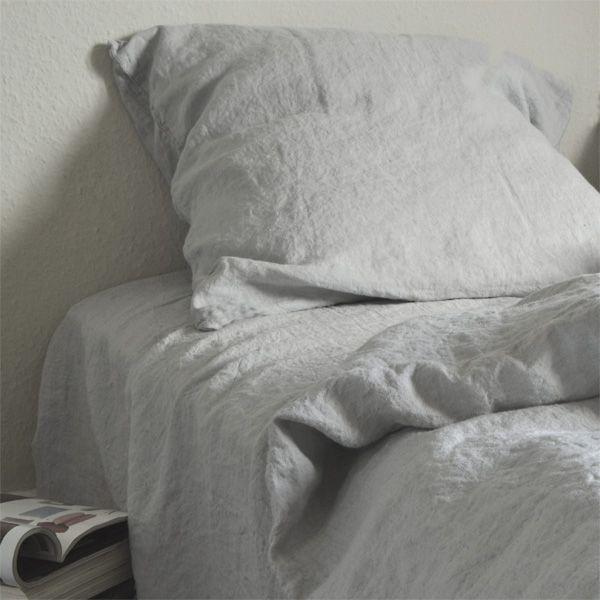 hør sengetøj Hørsengetøj i vasket 100% hør in 2018 | Snekkersten | Pinterest hør sengetøj
