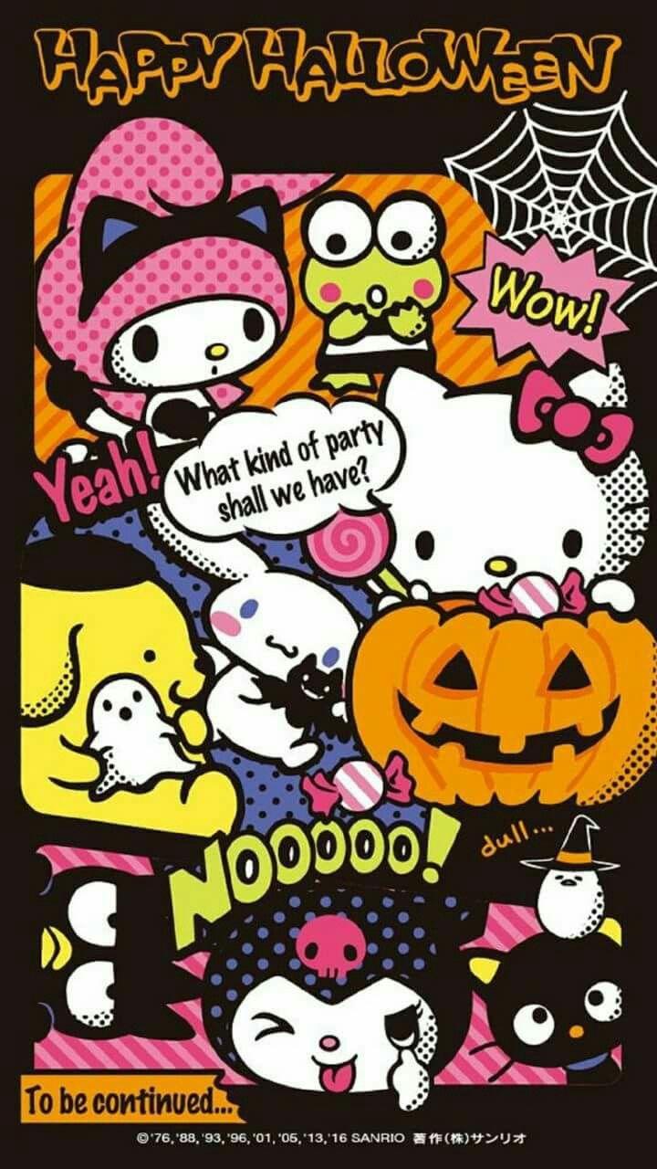 Happy Halloween Hk Friends Hello Kitty Halloween Hello Kitty