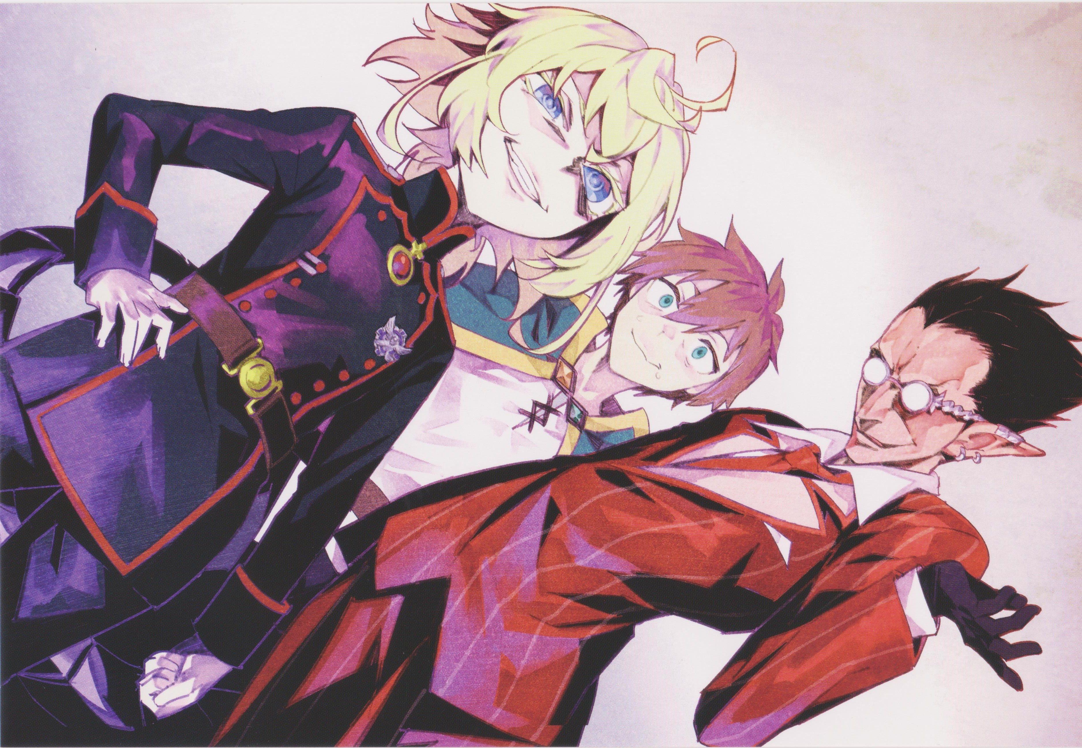 Anime Isekai Quartet Demiurge (Overlord) Kazuma Satou