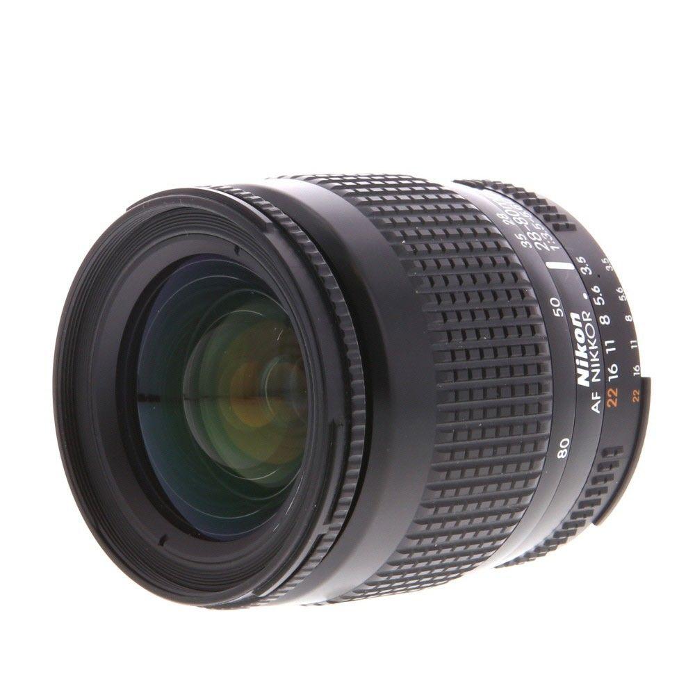 Nikon Nikkor 28 80mm F 3 5 5 6 D Early Minimum Focus 1 7ft Autofocus Lens 58 Autofocus Nikon Lens