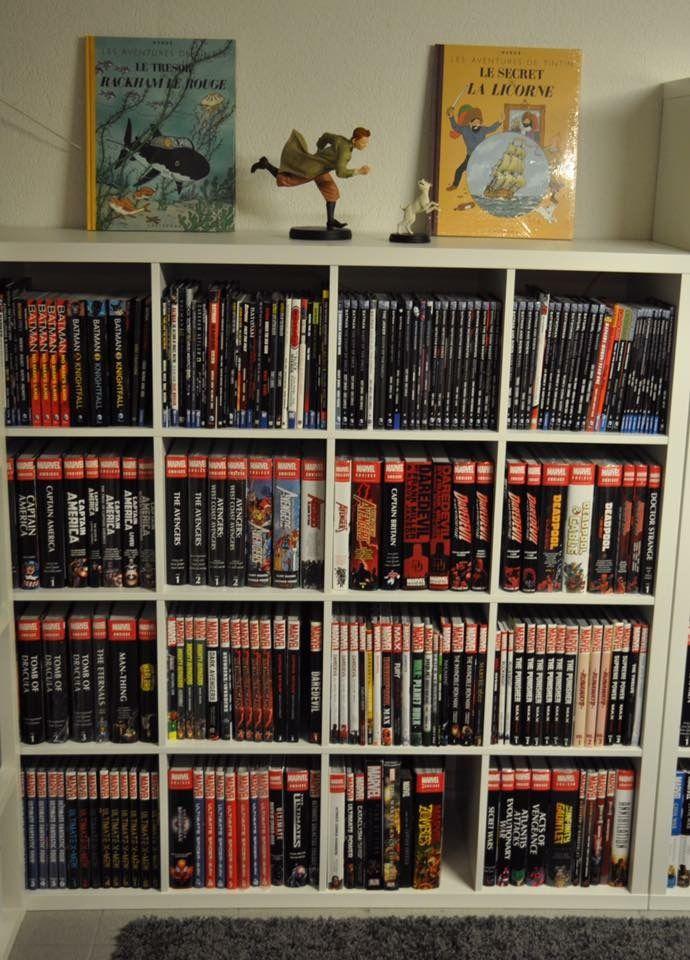 comic book collecting  Bookshelf in 2019  Comic book