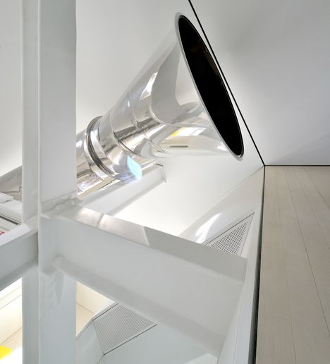 Skyhouse by david hotson and ghislaine viñas the slide starts at the very top of new york penthousepenthouse