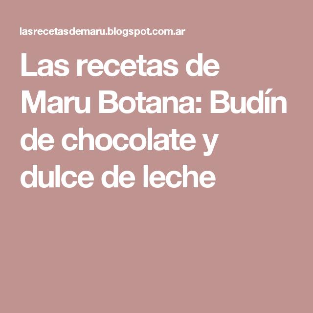 Pin En Bizcochuelos Y Budines De Chocolate