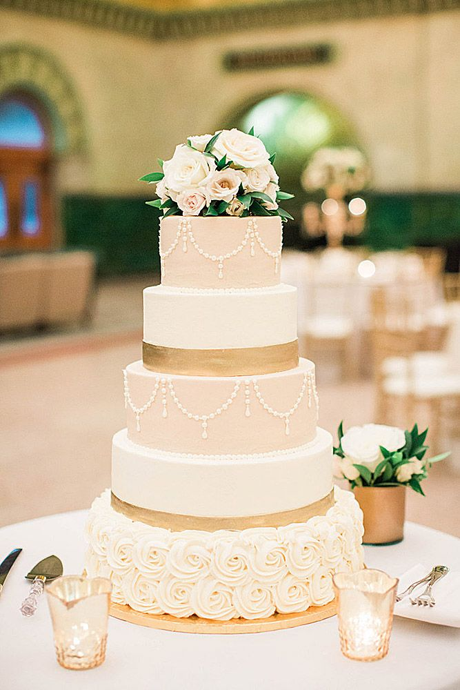 Marvelous 33 Simple, Elegant, Chic Wedding Cakes | Wedding Forward