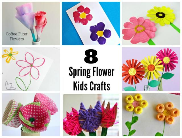 Sweet spring flower crafts for kids artcrafts kids pinterest to celebrate spring and all of its loveliness ive rounded up 8 sweet spring flower crafts to enjoy with your kids mightylinksfo