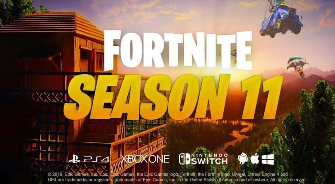 تسريب صورة من سيزون ١١ لا تبخلي علي بلايك كود المتجرlgn8 اكسبلور قيمز اخبار قيمنق قراند5 اكسبلور فولو لايك قيم Fortnite Season 11 Epic Games Fortnite
