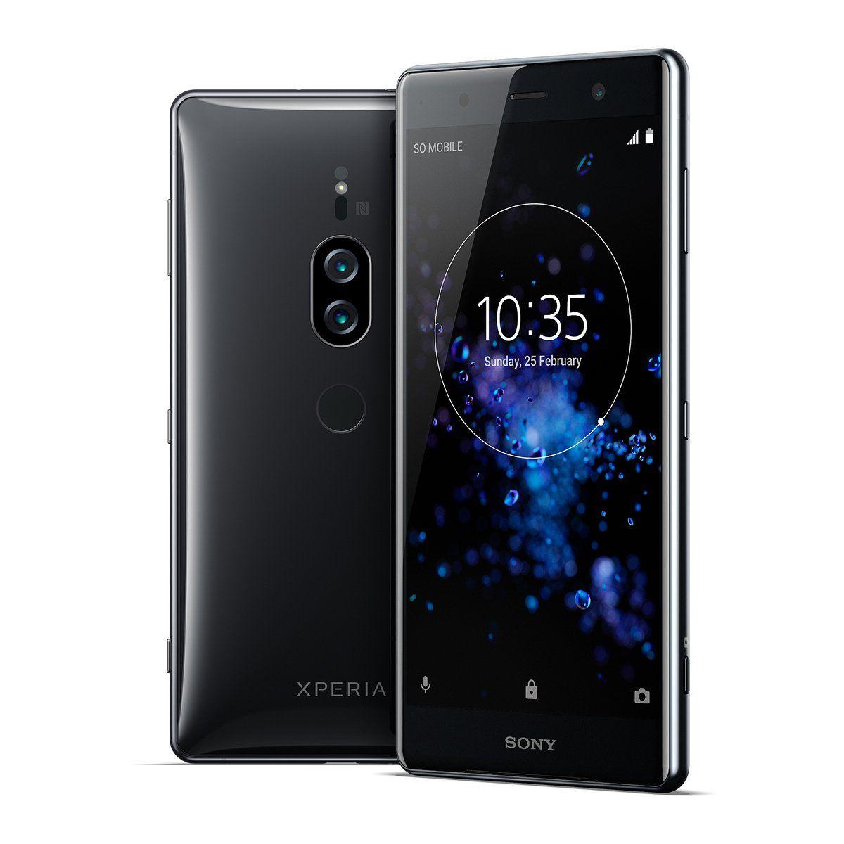 Sony Xperia Xz2 Premium Unlocked Smarphone Dual Sim 5 8 4k Hdr Screen 64gb Chrome Black Us Warranty Sony Xperia Latest Camera Dual Sim