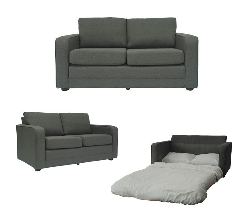 Incroyable Ultra Lightweight Sleeper Sofa With Padded Seat By Fox Hill Trading