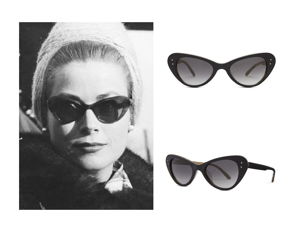 9dc44740e27e Grace Kelly in Oliver Goldsmith  Grace  sunglasses