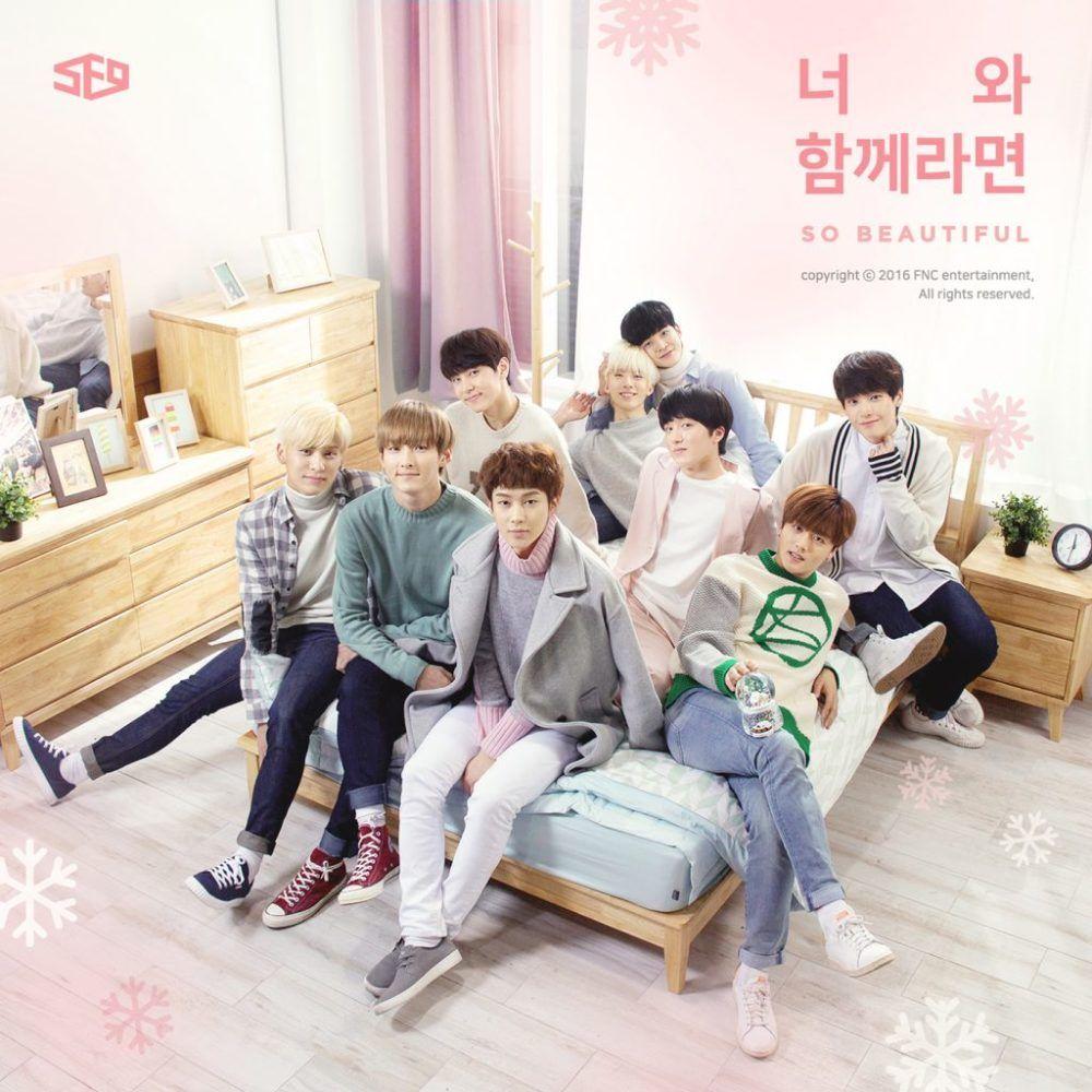 SF9 - 'So Beautiful' Album Cover | Sf9, Album, Beautiful