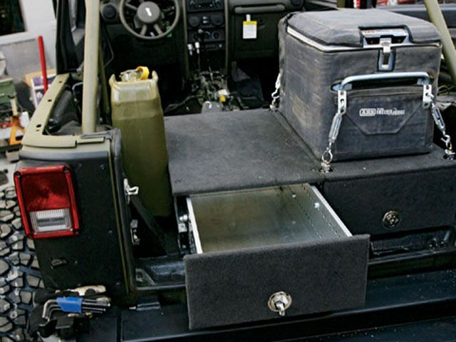 Rear Storage Jeep Pinterest Jeeps Vehicle And Cars