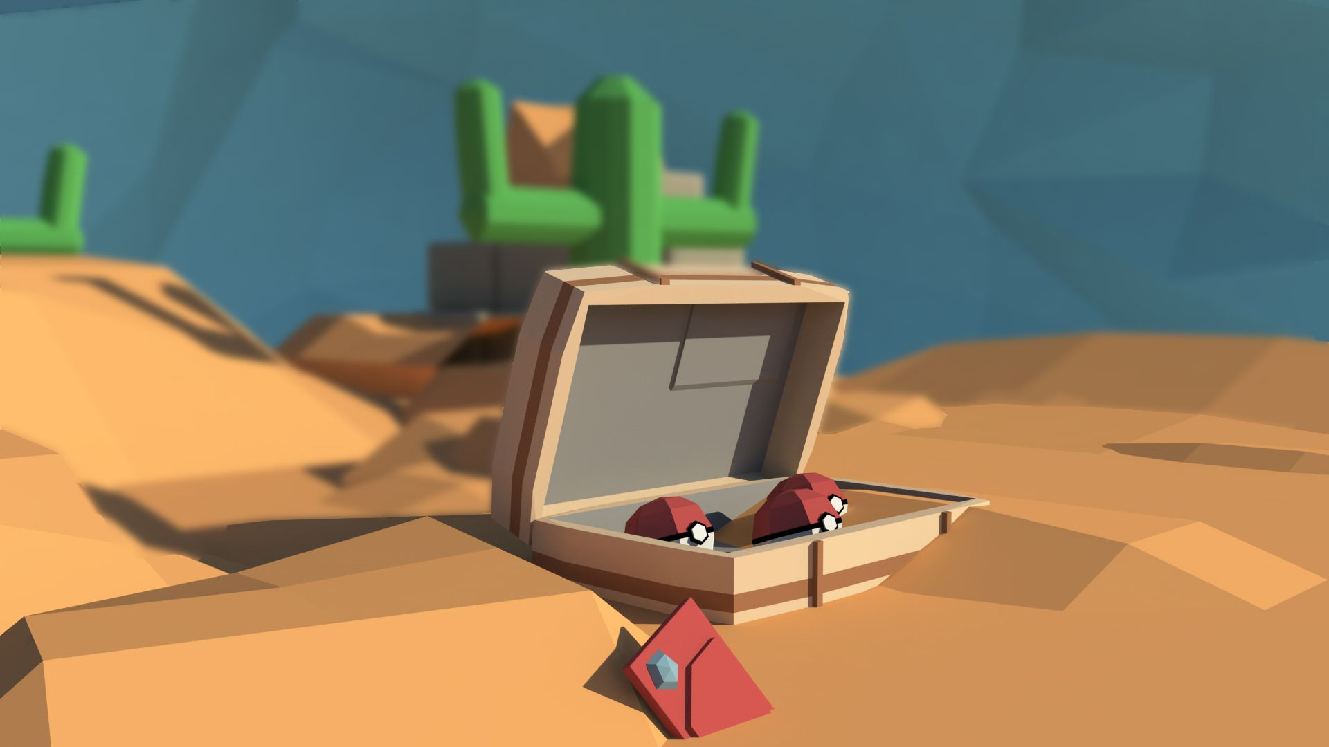 """Check out this Behance project """"Mundo Low Poly/Low Poly"""