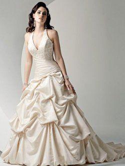 Nuevo estilo caliente venta vestidos de novia sencillos