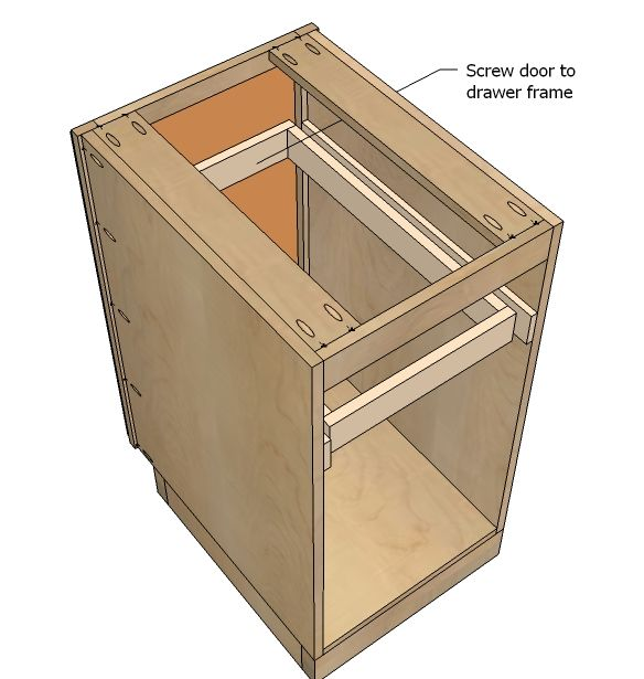how to build cabinet bases