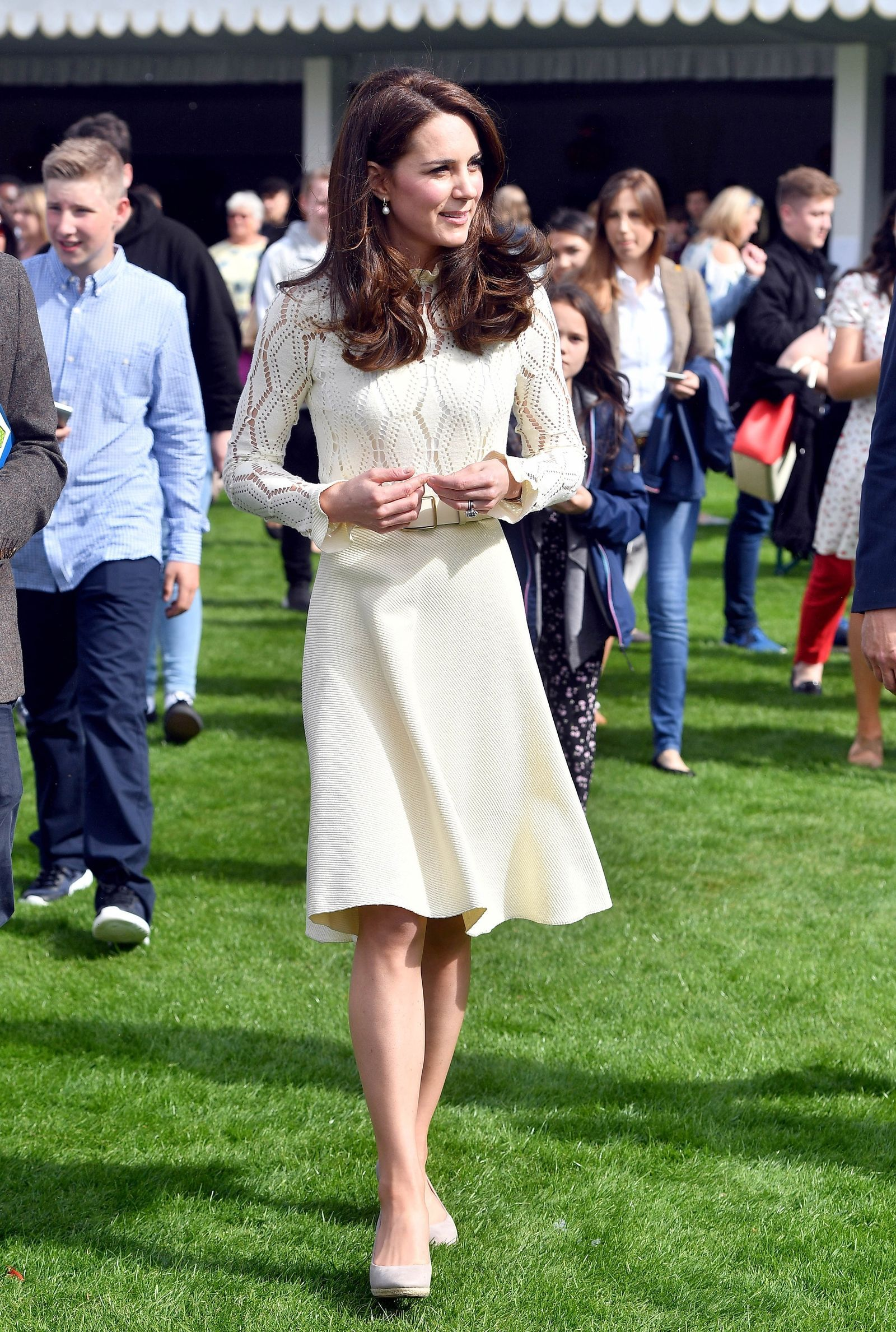 bb1a44319e55 Kate Middleton Just Wore Her Best Maternity Dress—Again