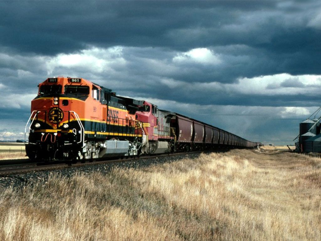 Download Transport Trains Wallpaper, 'bnsf