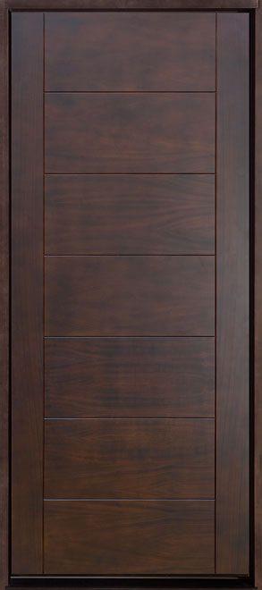 Mahogany Solid Wood Front Entry Door Single Wooden Doors Main Door Design Bedroom Door Design
