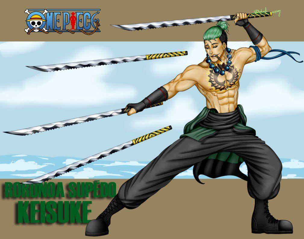 One Piece Roronoa Supedo Keisuke By R Blackout One Piece Drawing Zoro One Piece One Piece Anime