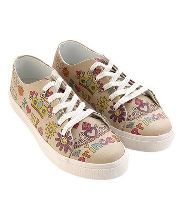 Look what I found on #zulily! Purple & Blue 'Princess' Sneaker #zulilyfinds