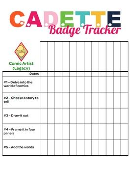 This Tracker Allows Troop Leaders To Document Badge Requirements