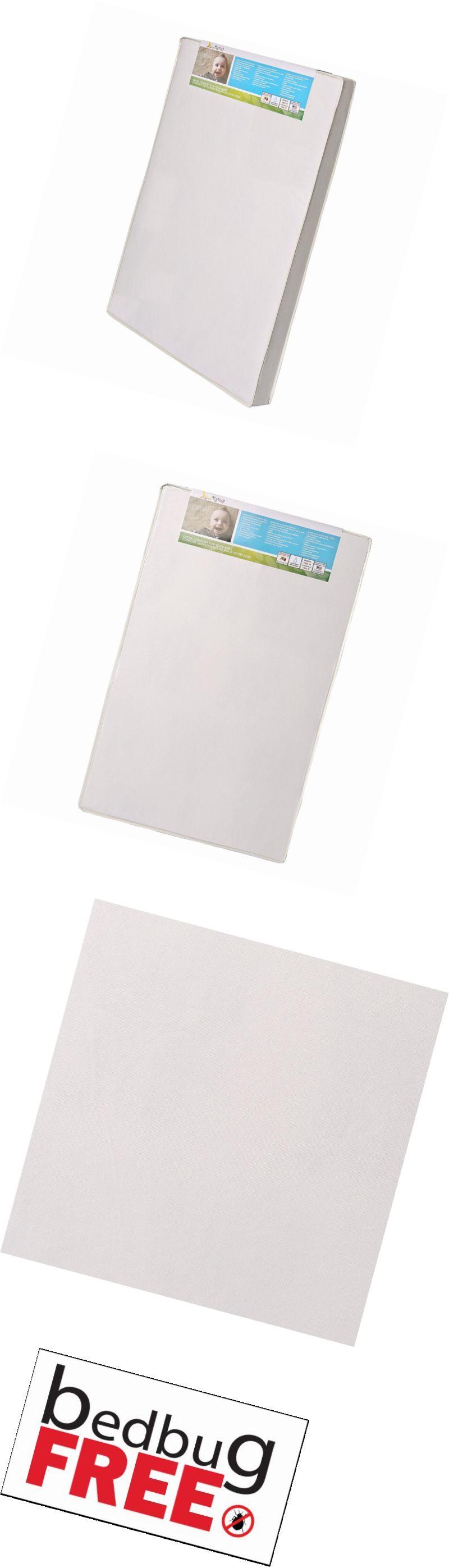 Crib Mattresses 117035: Dream On Me 3 Extra Firm Portable Crib Mattress,  White