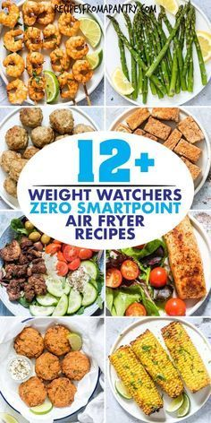 With the air fryer you can enjoy delicious healthy low calorie meals sides and snacks! All of these weight watchers friendly recipes are simple easy and have zero smart points (freestyle)! Get inspired to cut the calories with these tasty and satisfying air fryer recipes.  Wit