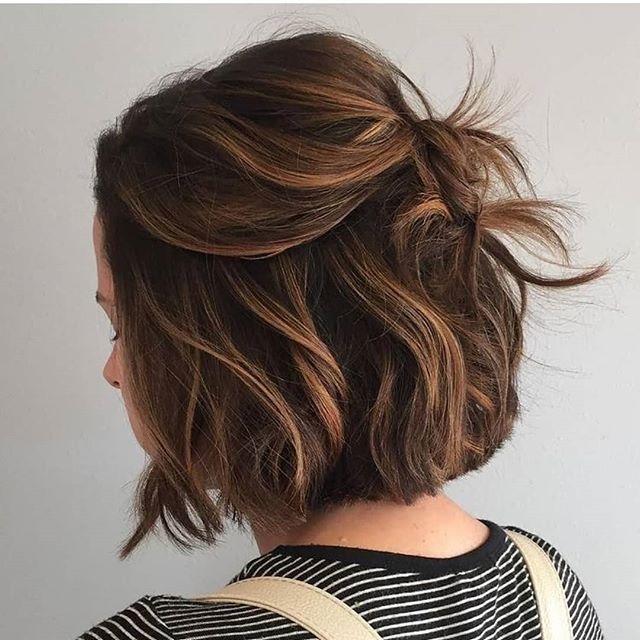63 Neuer Trend Long Bob Frisuren Schokoladenbraune Haarfarbe Haarfarben Braune Haare
