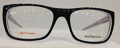 NEW AUTHENTIC HUGO BOSS ORANGE BO 0070 COL 9O5 BLACK PLASTIC EYEGLASSES FRAME