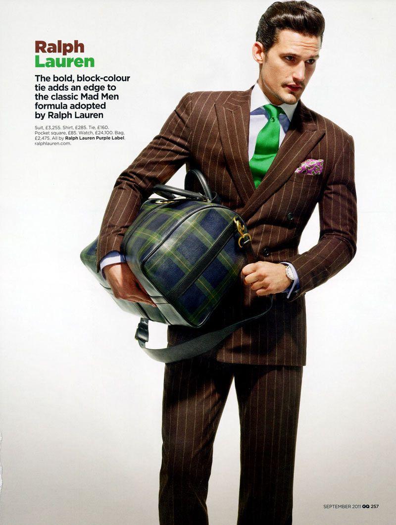 ralph-lauren-brown-suit-striped-gq.jpg (800×1060) | Suits ...