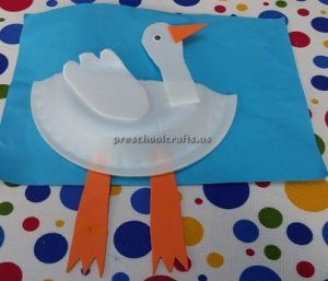 Paper plate duck craft ideas for preschool and kindergarten | Duck ...