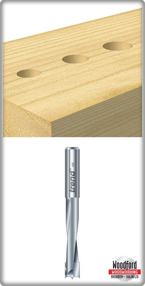 Lip and spur dowel drills for use with the Trend Craft Dovetail Jig ...