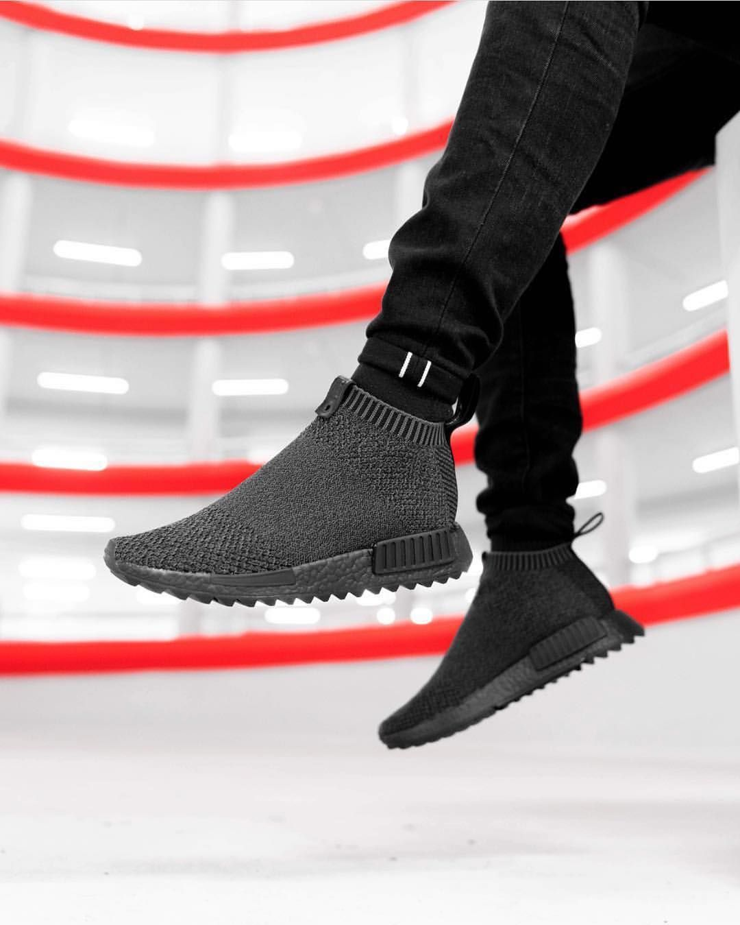 save off fe297 c2e9d Release Date   September 23, 2017 Adidas x The Good Will Out NMD CS1 «  Shinobi » Primeknit Credit   Footshop